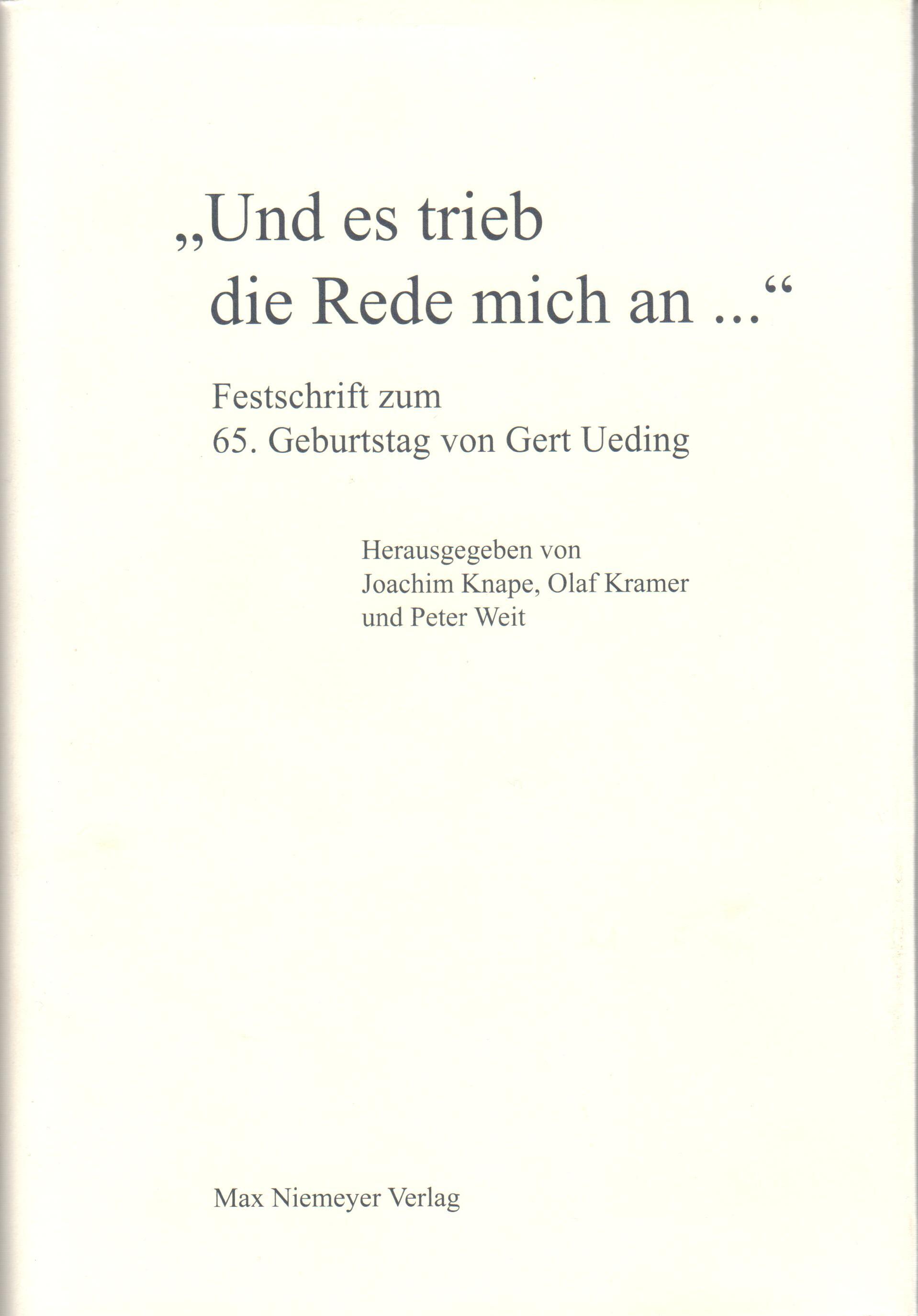 Seminar Für Allgemeine Rhetorik   Universität Tübingen
